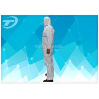 Cheap Non Woven 4/5/6 Taped Disposable Protective Coverall By SMS Or Microporous Film for sale