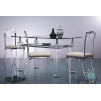 China acrylic breakfast bar table and chairs on sale
