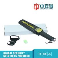 Quality Portable Hand Held Metal Detector , Black - Ideal Security Device Super Scanner wholesale