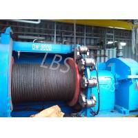 Quality High Speed Electric Winch Machine / Electric Power Winch For Platform And Emergency Lifting wholesale