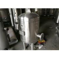 Quality Titanium Clad Heater Stainless Steel Air Receiver Tank With X - Ray Inspection wholesale