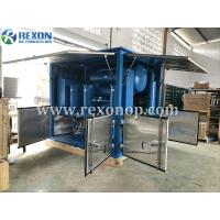 China Weather Proof Type Double Stage High Vacuum Transformer Oil Purifier Machine 9000Liters/Hour on sale