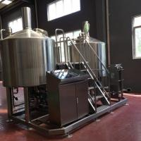 Quality Turnkey Brewery Equipment 3 Vessel Brewhouse SS Brewing Equipment 20Bbl wholesale
