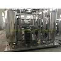 Quality Industrial CO2 Gas Carbonated Drink Automatic Drink Mixing Machine With 3000L Three Tanks wholesale
