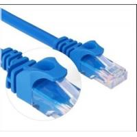 China Color Customized 4 Pairs Cat6 UTP Cable , RJ45 Ethernet Patch Cord Pass Fluke Test on sale