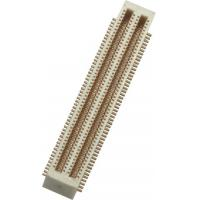 Quality 0.5mm 2*50P SMT Board to Board Connector with post Phosphor PA9T Bronze Gold Flash wholesale