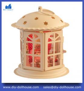 Quality Mini Dollhouse Diy Dollhouse Miniature Toy Model House Educational Toy Craft Gift I001 wholesale