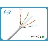 China 4 Pairs BC / CCC / CCA Cat6 Lan Cable For Outdoor And Indoor Extra Long on sale