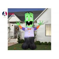 Quality PVC Giant Inflatable Cooler Halloween Cartoon Air up Scary Vampire CE / SGS wholesale