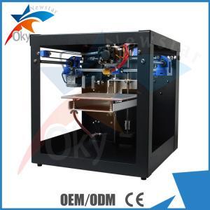China Digital MK8 Extruder 3D Desk Top Mini Printer Kits Metal with ABS / PLA Filament on sale