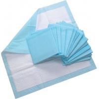 Buy cheap Disposable underpad in good quality, blue, size 40x60cm, 60x60cm, 60x90cm without SAP from wholesalers