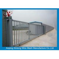 Quality 2m Height Automatic Sliding Gates For Driveways High Performance RAL 256 Colors wholesale
