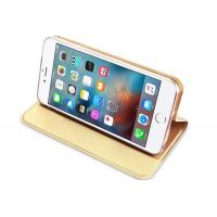 Quality Thin IPhone Protective Cases Magnet Bracket Smooth PU Leather For IPhone 5 wholesale