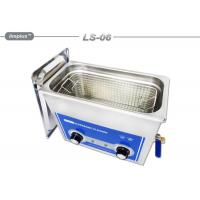 Hardware Oil 6L Removal Tabletop Ultrasonic Cleaner With Basket