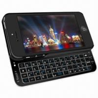 Quality Ultra-thin and slide-out backlit wireless keyboard for iPhone 5 wholesale