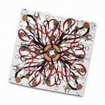 Quality Women's Silk Scarf, Dry-clean Maintenance, Measures 90 x 90cm wholesale