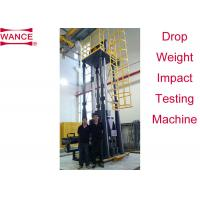 Quality High Efficiency Drop Weight Impact Test Apparatus For Line Pipe Four Columns Supported wholesale