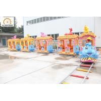 Quality Light And Music Amusement Park Train 8 * 8 Meter 14 People Capacity wholesale