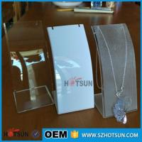 Quality Custom clear countertop ring display/ring rack /acrylic jewelry display stand wholesale
