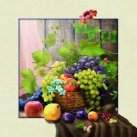 Quality 5d Natural Flowers 20 x 20cm Poster Custom Lenticular Printing For Wall Art Hanging wholesale