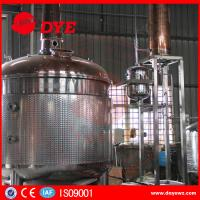 Quality stainless steel copper bubble cap high quality distillery equipment vodka distillery wholesale