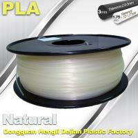 Quality Smooth PLA Transparent Filament 1.75mm /  3.0mm 3D Printing Filament wholesale
