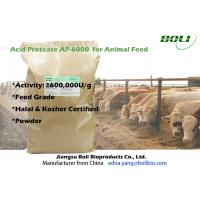 Quality High Activity Enzymes In Poultry Feed , High Efficient Acid Protease Enzyme wholesale