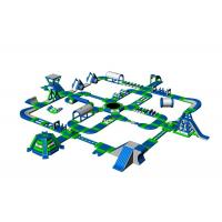 Quality Giant Inflatable Floating Water Park Equipment For Beach Amusement wholesale