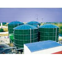 Quality Smooth Glass Fused To Steel Tanks , Above Ground Fuel Storage Tanks AO Reactors wholesale