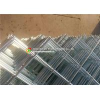 Quality Diagonal Square Hole Welded Wire Mesh Electro Galvanized For Ornamental / Building wholesale