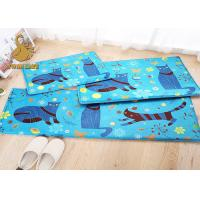 China Custom Comfortable Decorative Bedroom Floor Mats With Non-slip Underlay Felt on sale