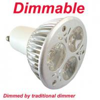 China Dimmable LED GU10 Bulb 6W on sale