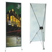 Quality Advertising  graphic banner stand Trade Show Display X Banner Stand With PVC Banner wholesale