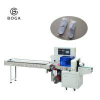 China 2.8KW Flow Wrap Packing Machine / Disposable Slippers Packaging Machine on sale