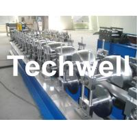 Quality 80mm, 100mm Or 120mm Custom Round Downspout Roll Forming Machine for Rainwater Downpipe wholesale