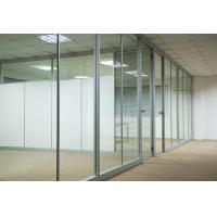 Quality Custom Waterproof Aluminum Glass Office Partitions With Clear / Frosted Glass wholesale