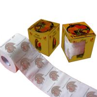 Quality printed toilet paper designs  2ply  250 sheets 100% virgin pulp novelty bathroom tissue wholesale