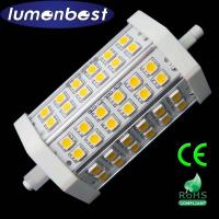 Buy cheap R7S LED R7S BULB 36SMD(5050)Aluminum+Plastic 7W 118mm(118mm*54mm) from wholesalers