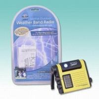 China Weather Band Radios with LED Lights on sale