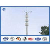 Buy cheap 86um Galvanization Telecommunication Pole AWS D1.1 Welding Standard from wholesalers