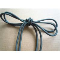 Cheap Colored Cotton Cord for garment Braided Fabric Waxed Cotton Cord for Shoelace for sale