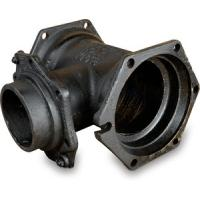 China AWWA C153 Cast Iron Pipe Fittings Mechanical Joint Pipe Fitting MJ x MJ Tees on sale