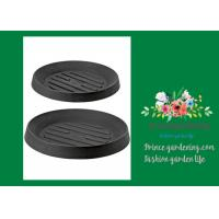 Cheap Plastic Flower Pot Saucers / Plant Pot Trays Prevents Water Stains On Decks for sale