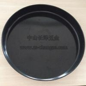 Carbon Steel Enamel Round Baking Tray/Pizza Pan 45liter