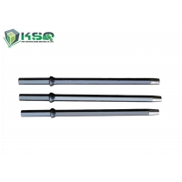 China Small Hole Drillig Tools Hex22 Tapered Rock Drill Rod For Jack Hammer on sale