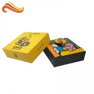 Buy cheap Hard Cardboard Packaging Box Gloss / Matt Lamination With Lid Printing Riddles from wholesalers