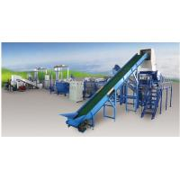 Buy cheap Pp Pe Film PET Recycling Line Saving Water , Plastic Washing And Drying Machine from wholesalers