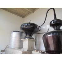 Quality Double Pots Distiller with 6 Plates Copper Column / Two Pot Style Distillation Equipment for Sale wholesale
