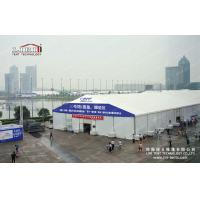 Quality 35m Aluminum Frame White PVC Cover Garden Storage Tent For Exhibition Hall wholesale