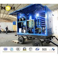 Quality Transformer Mobile Insulation Oil Purifier Filtration Unit With Double Stage wholesale